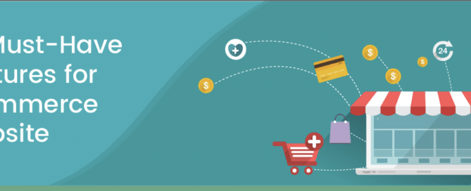 72 Essential Features of an Ecommerce Website - Infographic